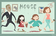 HOUSEのイラスト