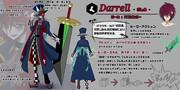 【アタッカー】道化師ダレル