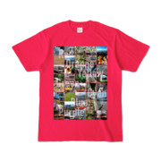 Tシャツ ホットピンク Forty_7_Colors