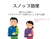 亀井勇樹のスノッブ効果