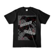 Tシャツ | ブラック | ゾンビカラスちゃん
