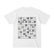 Tシャツ | ホワイト | ALPHABET_GRAVEL
