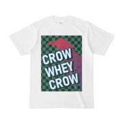 Tシャツ   ホワイト   CROW_WHEY_CROW