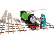 【モデル配布あり】ちんまり鉄道用直線・曲線レール