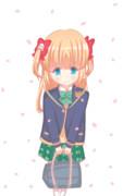 桜と苗ちゃん