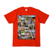 Tシャツ レッド Forty_7_Colors