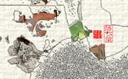 「落ち葉」※写真加工・線画・彩・おむ09105