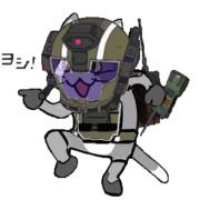 レイダー猫 ヨシ!