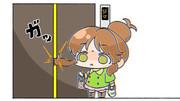 【お題箱】閉じかけのエレベーターを手で止めようとしたら押さえたのがスイッチついてない方のドアだっ