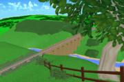 高架橋(クロンク橋)ステージ