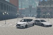 日産リーフ X SPORTS CAR