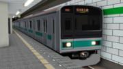 【MMD鉄道】209系1000番台モデル 公開
