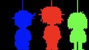 three human