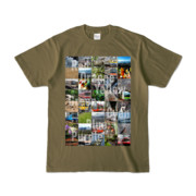 Tシャツ オリーブ Forty_7_Colors