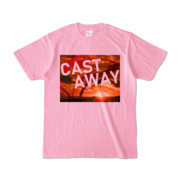 Tシャツ ピーチ CAST_AWAY_SUNRISE