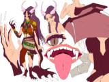 ペトラをドラゴン娘にしてみた