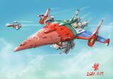 対NT戦用特殊吶喊攻撃型MS「スカイスイカバー試製2号機」