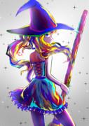 ツインテールの魔女