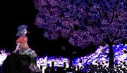 死体の夜桜