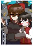 仲良しなMaru姉貴とCL姉貴
