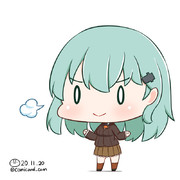 鈴谷 艦これワンドロ 201120