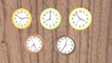 【MMDアクセサリ配布あり】シンプル掛け時計