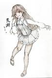 荒潮さんとお絵描き練習2