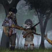 武装エルフの森
