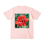Tシャツ ライトピンク Invective_HANA