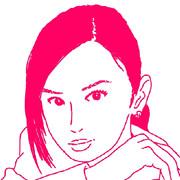 北川景子さんのイラストを描いてみた