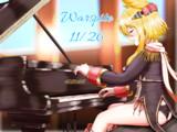 ピアノを弾くオールドレディ