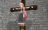 巡音ルカ 十字架磔
