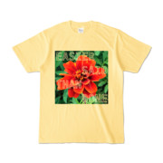 Tシャツ ライトイエロー Invective_HANA