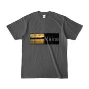 Tシャツ チャコール Maine_Lake