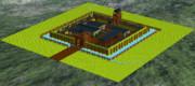 LDDで砦を作ってみた。