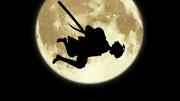月夜の雷鳴