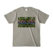 Tシャツ シルバーグレー VOLTEI_Grass