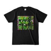 Tシャツ ブラック Grass_Tower