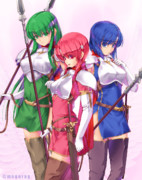 普通のペガサス三姉妹