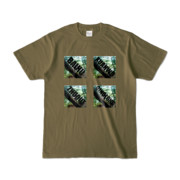 Tシャツ オリーブ BXZQ_Fairy