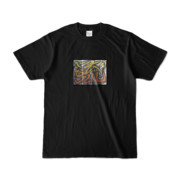 Tシャツ | ブラック | 流・風月