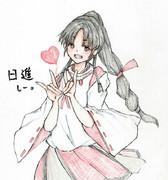 日進さんとお絵描き練習2