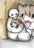 ベイマックスと大和猫