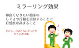 亀井勇樹とミラーリング効果