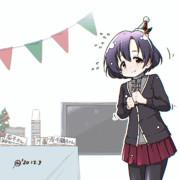 [GIFアニメ] そわそわ白菊ほたるちゃん