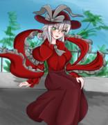 赤い衣玖さん