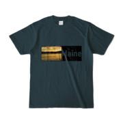 Tシャツ デニム Maine_Lake