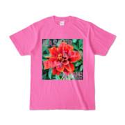 Tシャツ ピンク Invective_HANA