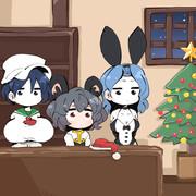 クリスマスの材料屋さん