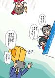 出待ちの小日向美穂さん、神崎蘭子さん、堀裕子さん